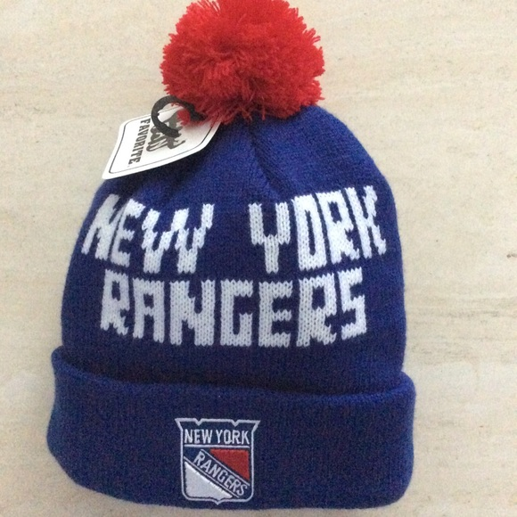 46b5179badf NEW YORK RANGERS Knit HAT